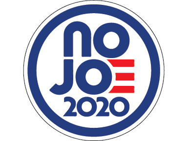 No Joe Sticker - All Out Canvas
