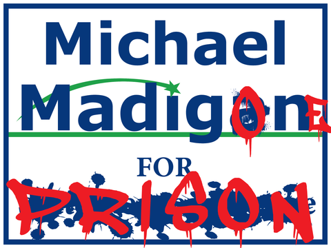 Madigan Yard Signs - All Out Canvas