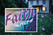 Load image into Gallery viewer, Faith over Fear Yard sign - All Out Canvas