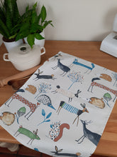 Load image into Gallery viewer, Tea Towel - Wild Woodland Creatures