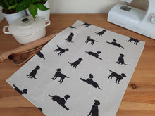 Load image into Gallery viewer, Tea Towel - Labradors