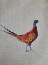 Load image into Gallery viewer, Tea Towel - Fantastic Pheasants