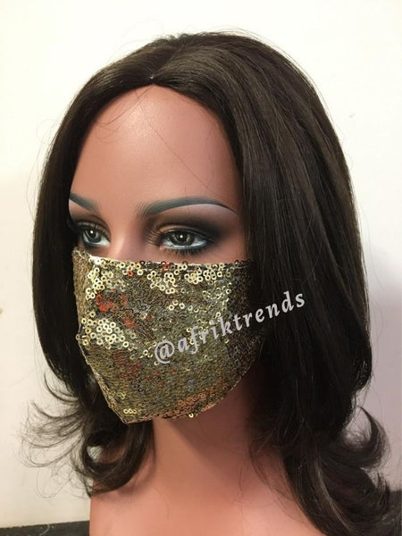 African Face Cover Mask