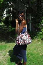 Load image into Gallery viewer, African print Ankara sling bag
