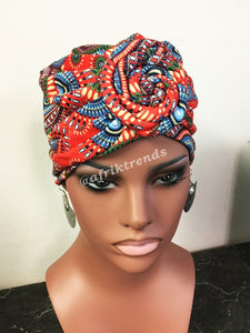 Top Knot Headwrap Turban