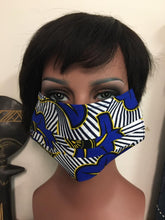 Load image into Gallery viewer, African Print Face Cover Mask