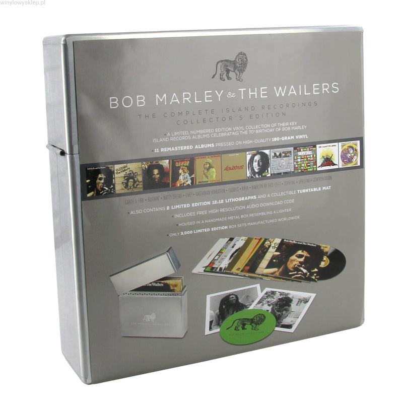 LPX12 Bob Marley & The Wailers ‎– Complete Island Recordings