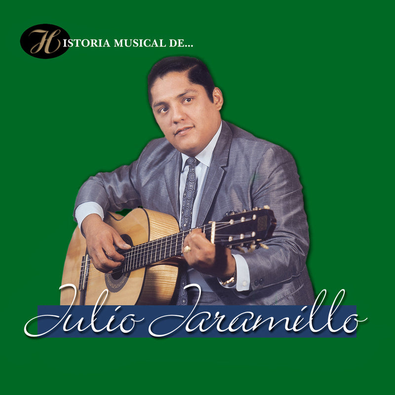 CD x 2 Historia musical de  Julio Jaramillo
