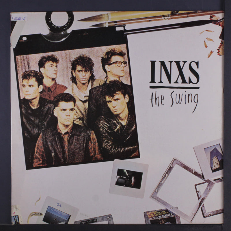 LP INXS ‎– The Swing