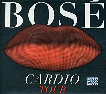 CD+DVD CARDIO TOUR / MIGUEL BOSE