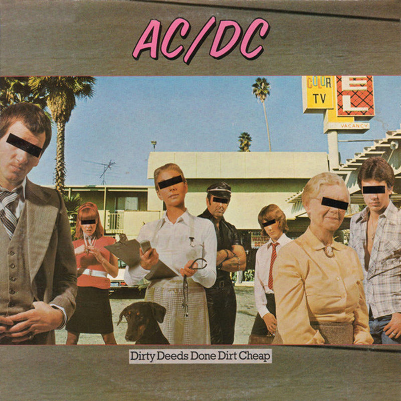 LP AC/DC ‎– Dirty Deeds Done Dirt Cheap