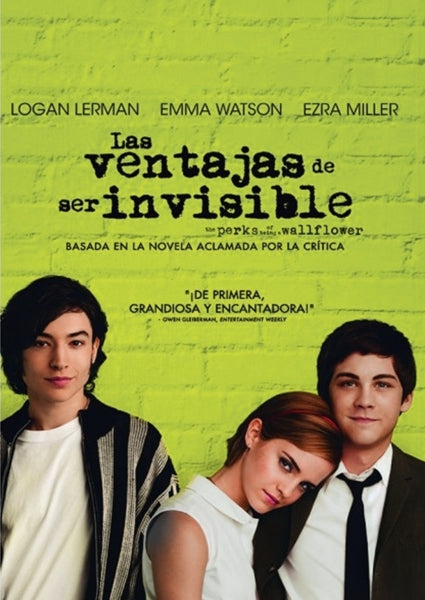 DVD LAS VENTAJAS DE SER INVISIBLE
