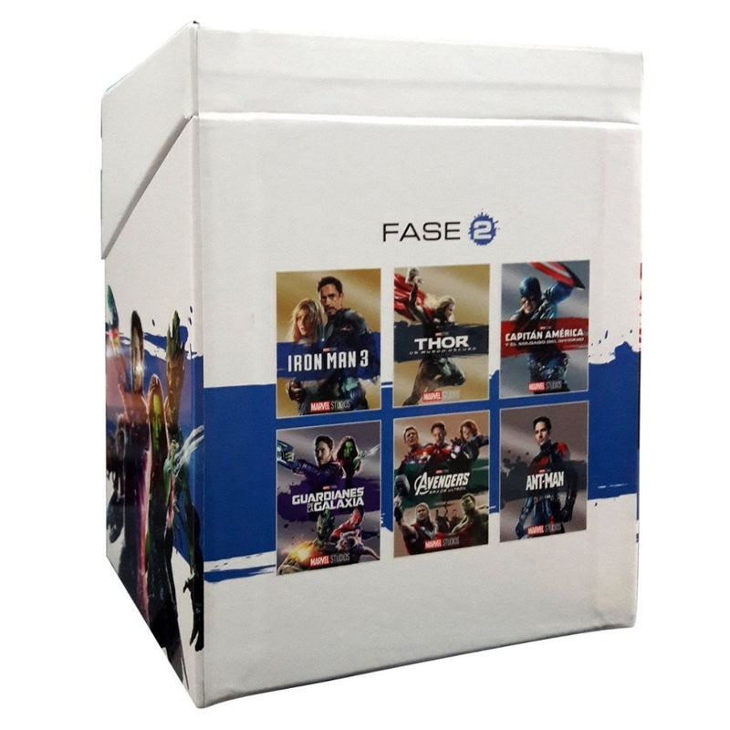 BLU-RAY PACK MARVEL FASE 2