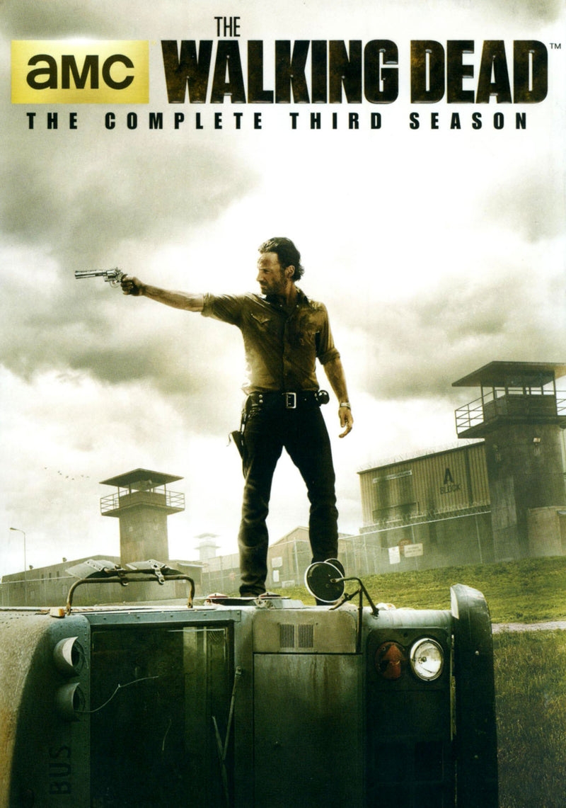 DVD X5 The Walking Dead: The Complete Third Season