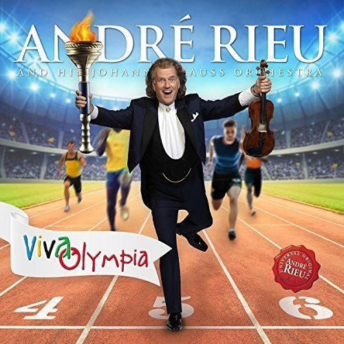 CD André Rieu And His Johann Strauss Orchestra ‎– Viva Olympia (Live)