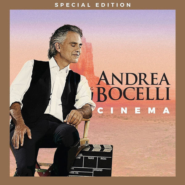 CD Andrea Bocelli ‎– Cinema
