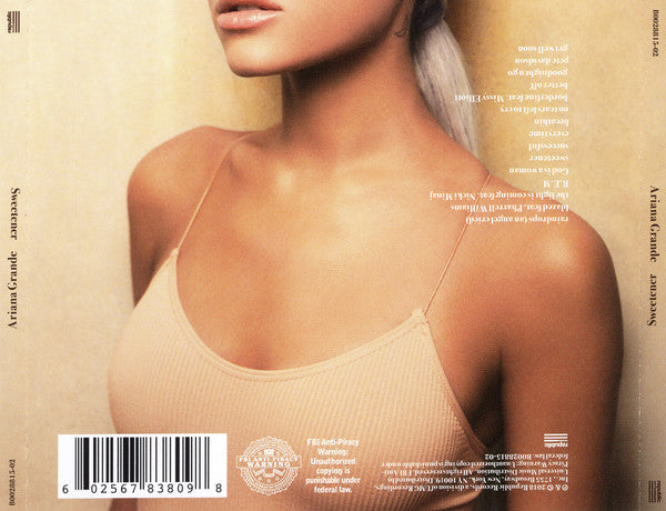 CD Ariana Grande ‎– Sweetener