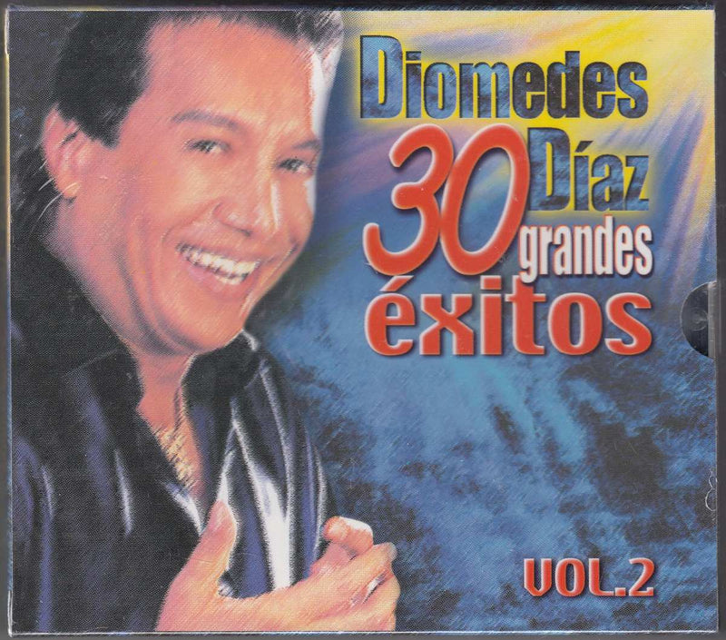 CD x 2 Diomedes Díaz · 30 grandes éxitos vol. 2