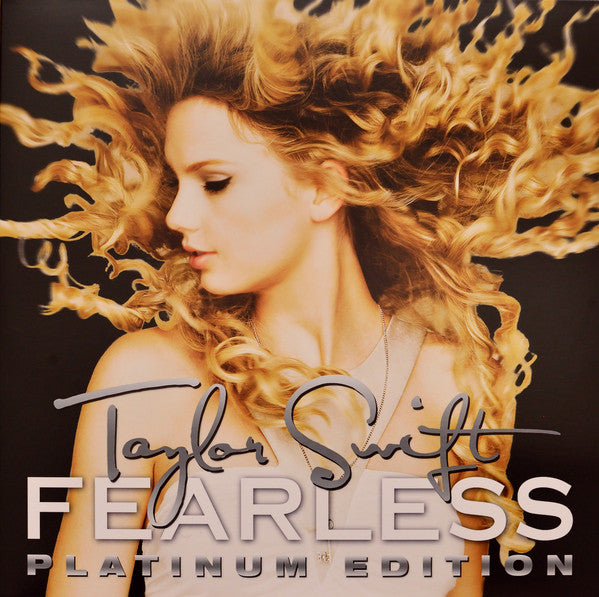 LP x2 Taylor Swift ‎– Fearless (Platinum Edition)