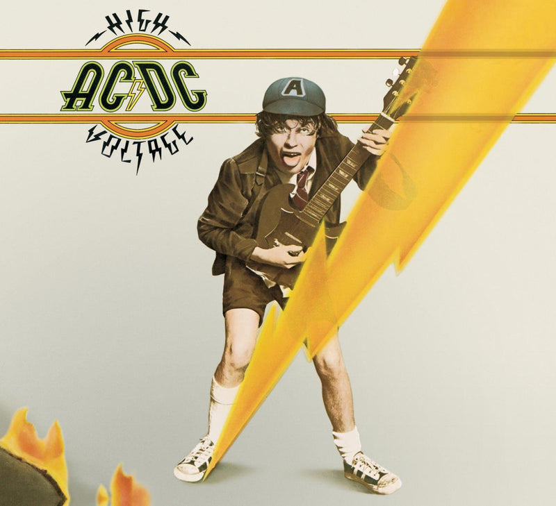 CD AC/DC · High Voltage