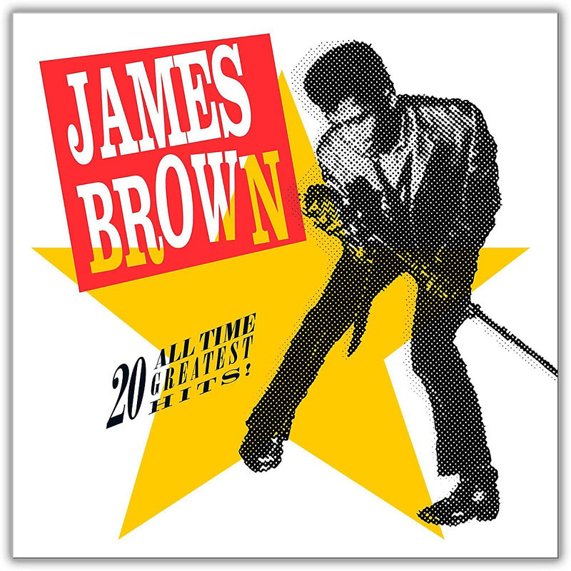 LPX2 JAMES BROWN 20 ALL TIME GREATEST HIST