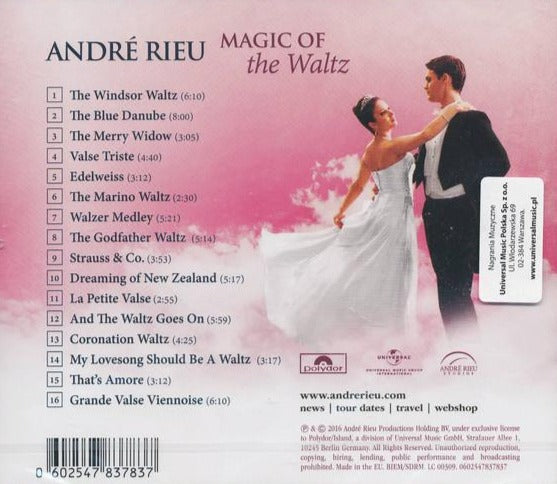 André Rieu ‎– Magic Of The Walz / CD