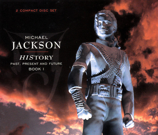 CD X2 Michael Jackson ‎– HIStory - Past, Present And Future - Book I