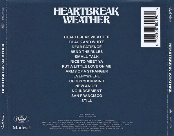 CD Niall Horan ‎– Heartbreak Weather