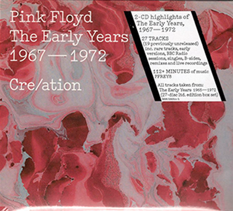PINK FLOYD - THE EARLY YEARS 1967 - 1972  CRE/ATION  / 2 CD'S
