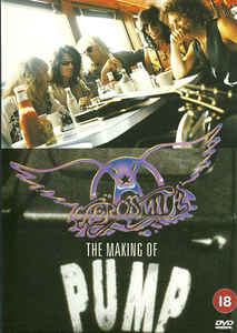 DVD Aerosmith · The Making Of Pump