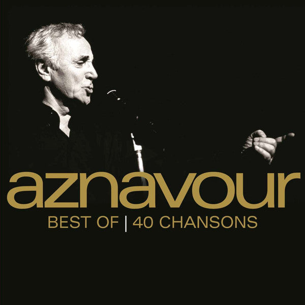 CD x 2 Charles Aznavour · Best of | 40 chansons