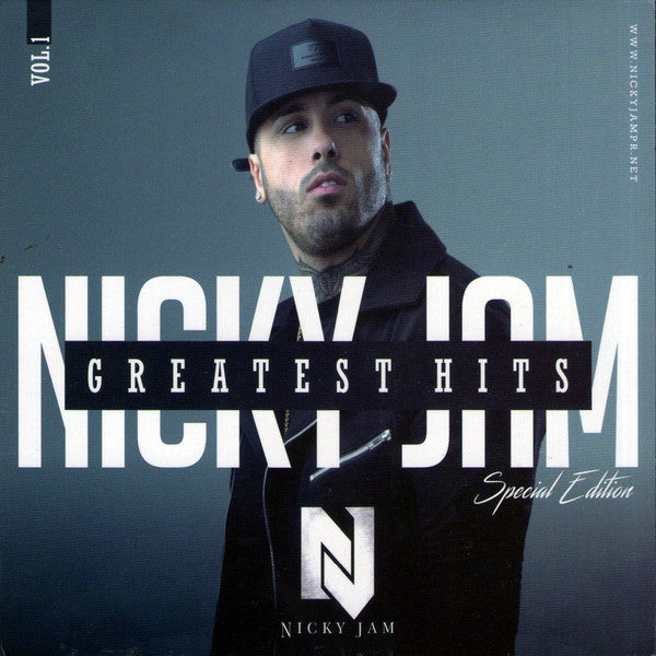 CD+DVD GREATEST HITS NICKY JAM SPECIAL EDITION