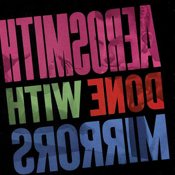 LP Aerosmith ‎– Done With Mirrors