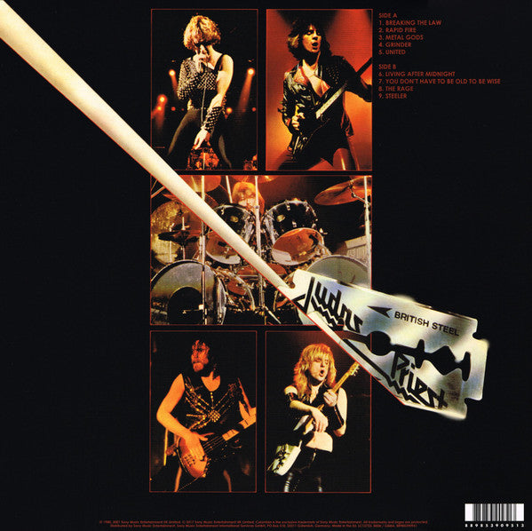 LP Judas Priest ‎– British Steel