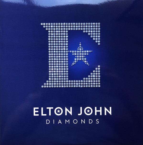 LP X2 Elton John ‎– Diamonds
