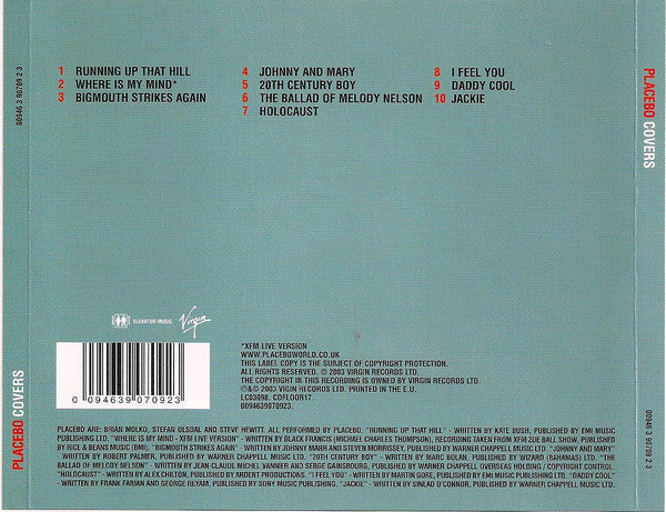 Placebo ‎– Covers / CD