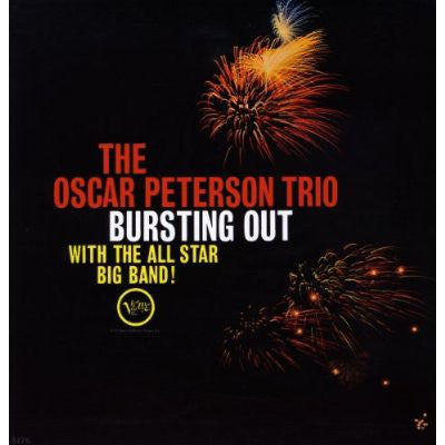 LP The Oscar Peterson Trio ‎– Bursting Out With The All-Star Big Band