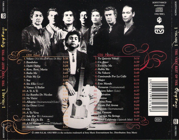 CD x 2 Gipsy Kings · The Very Best Of Gypsy Kings ¡Volare!