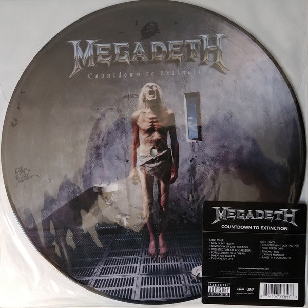 LP MEGADETH COUNTDOWN TO EXTINCTION