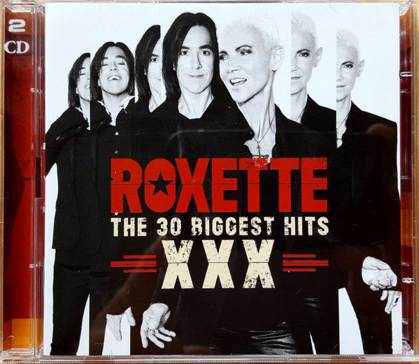 Roxette ‎– XXX (The 30 Biggest Hits) / CD