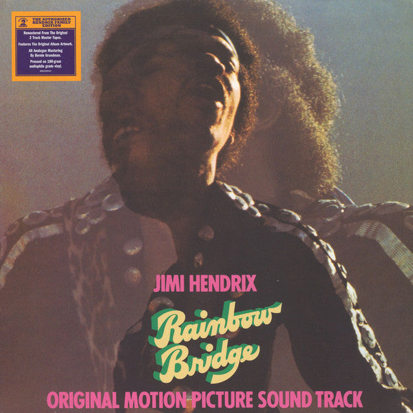 LP Jimi Hendrix ‎– Rainbow Bridge - Original Motion Picture Sound Track