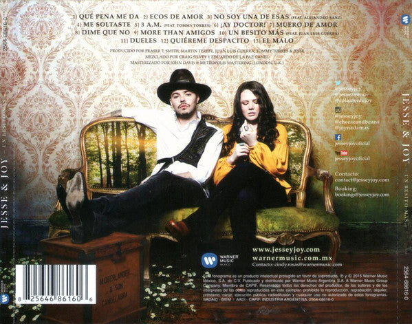 CD Jesse & Joy ‎– Un Besito Más