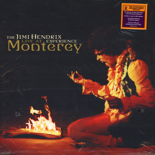 LP The Jimi Hendrix Experience ‎– Live At Monterey