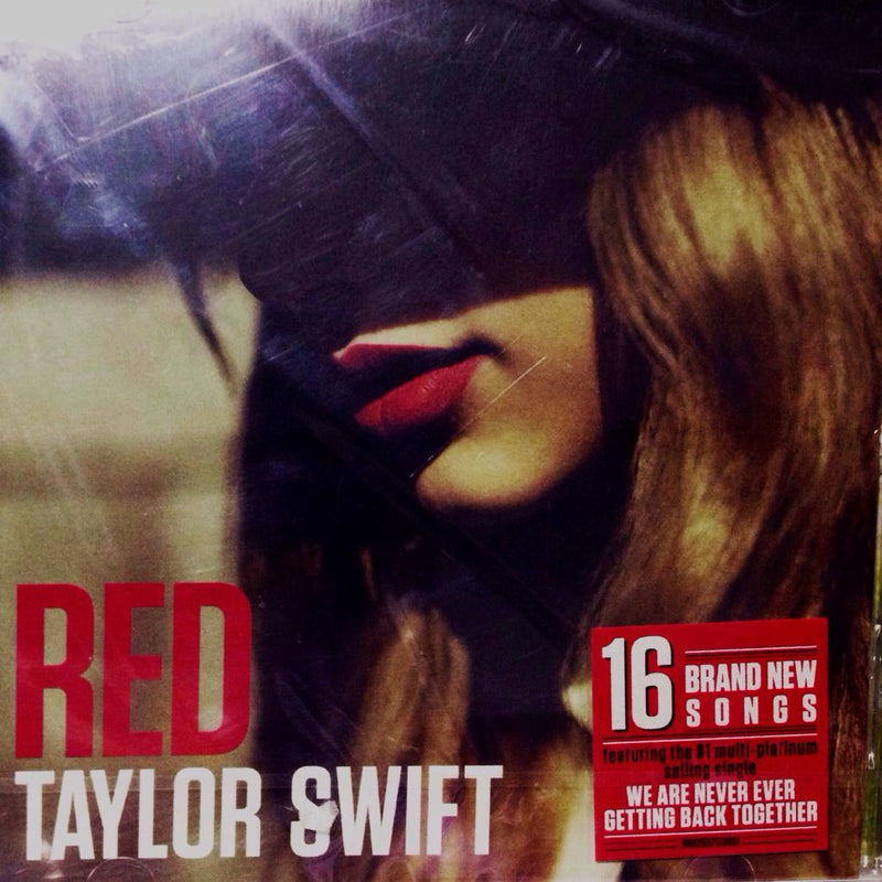 CD Taylor Swift - Red