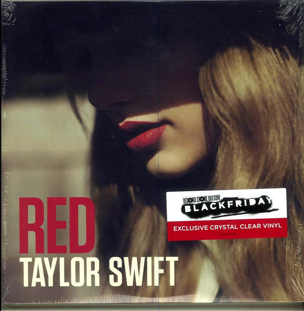 LP  TAYLOR SWIFT ‎– RED