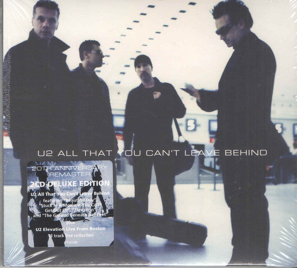 CD X2 U2 ‎– All That You Can't Leave Behind