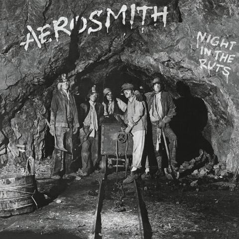 LP Aerosmith ‎– Night In The Ruts