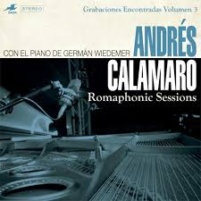 CD ANDRES CALAMARO ROMAPHONIC SESSIONS