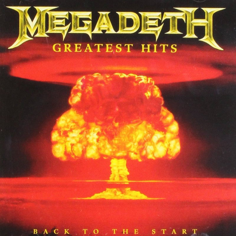 GREATEST HITS BACK TO THE START  MEGADETH