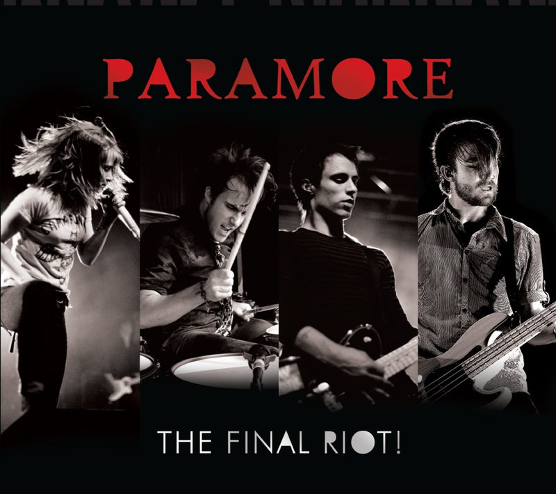 CD+DVD PARAMORE  THE FINAL RIOT